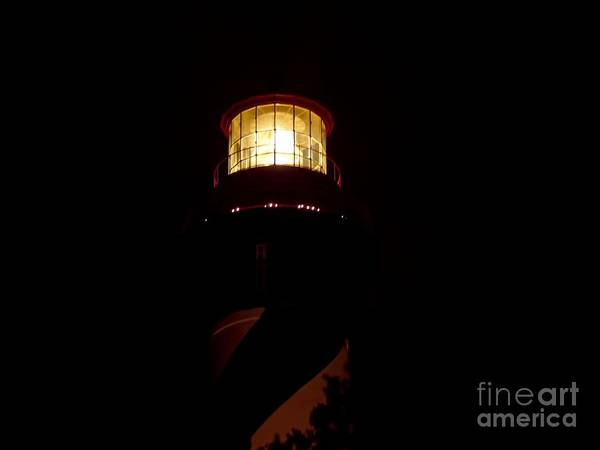 Photograph - Night Of Lights Lighthouse by D Hackett