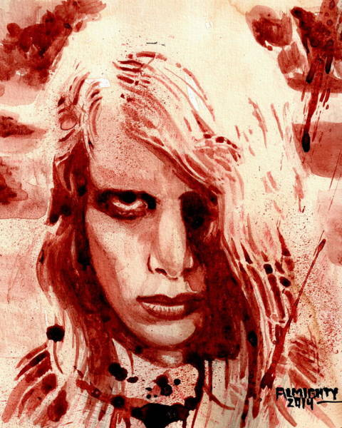 It Professional Painting - Night Of The Living Dead by Ryan Almighty