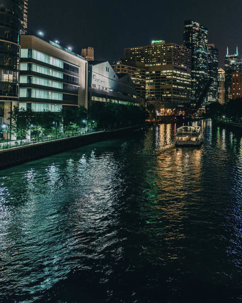 Photograph - Night On The River by Nisah Cheatham