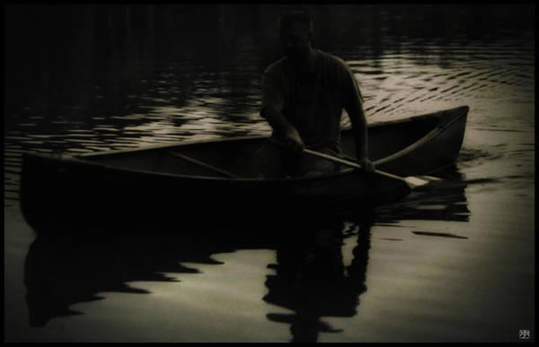 Photograph - Night Paddler by John Meader