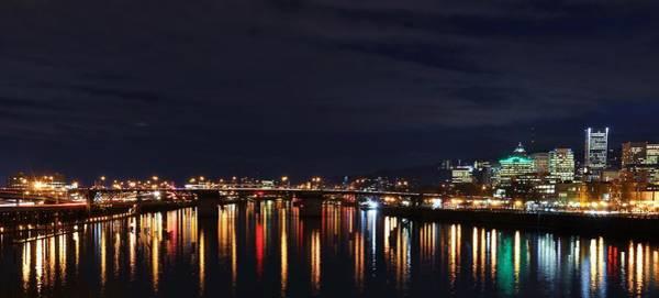 Wall Art - Photograph - Night Reflections by Peter Schumacher