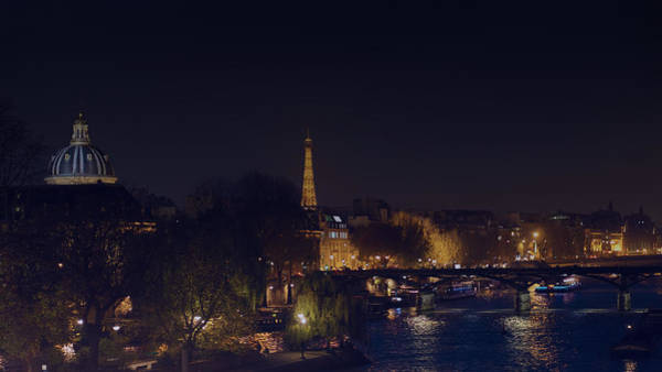 Photograph - Night Seine by Nisah Cheatham