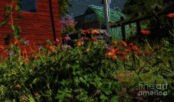 Digital Art - Night Shift For The Mice by Lance Sheridan-Peel
