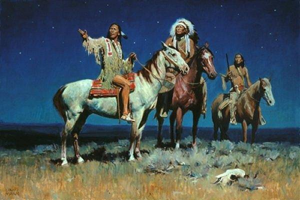 Painting - Night Signs by David Mann