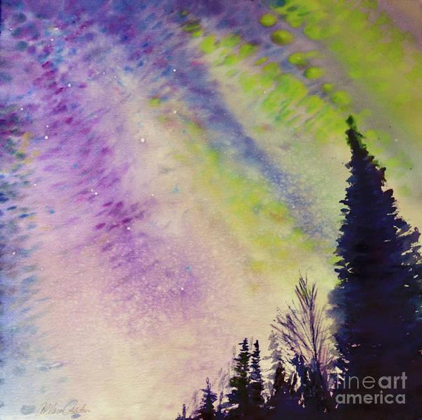Painting - Night Sky by Allison Ashton