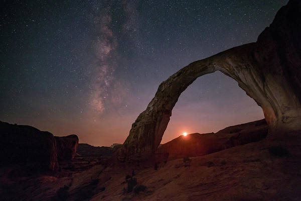 Photograph - Night Sky At Corona Ach by Alex Conu