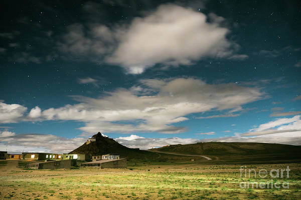 Wall Art - Photograph - Night Sky Near Lake Manasarovar Tibet by Raimond Klavins