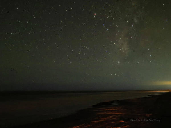 Photograph - Night Sky Over Gulf by Charles McKelroy