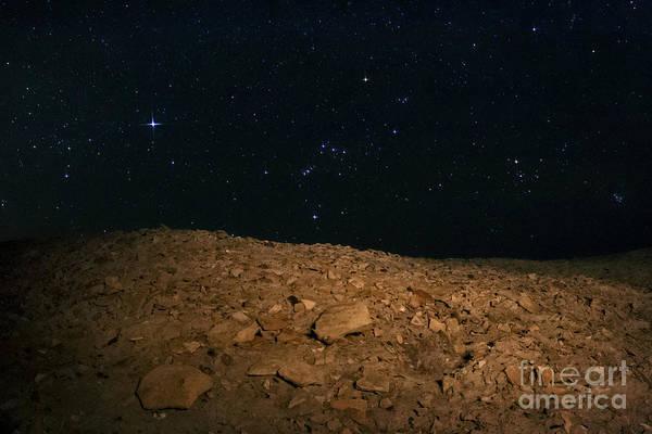 Wall Art - Photograph - Night Sky Over Shahr-e Sukhteh, Iran by Babak Tafreshi