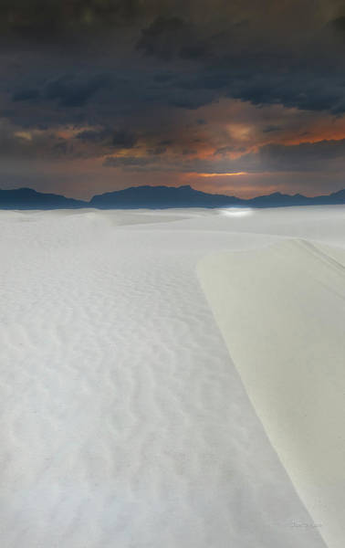 Photograph - Night Sky Over White Sands by Tim Bryan