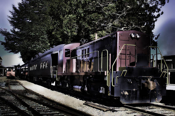 Photograph - Night Train by David Patterson