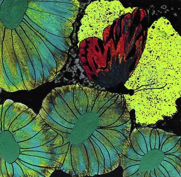Grow Painting - Night Vision by Keshida Layone
