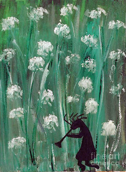 Painting - Night Walk In Thistles by Susan Hendrich