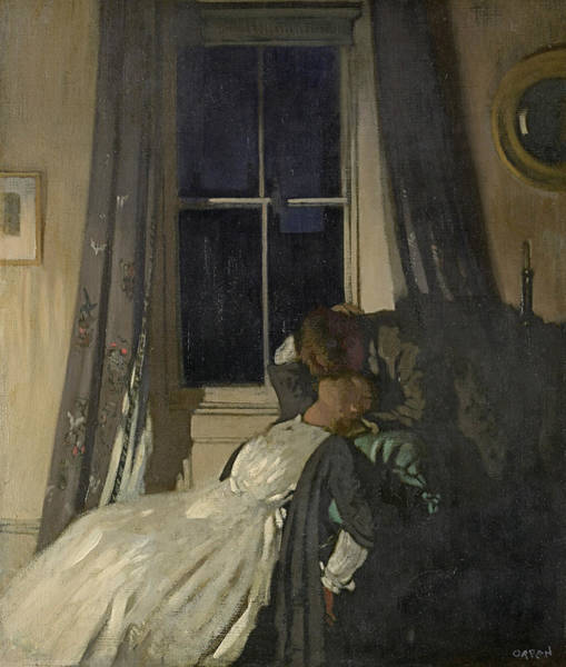 Painting - Night  by William Orpen