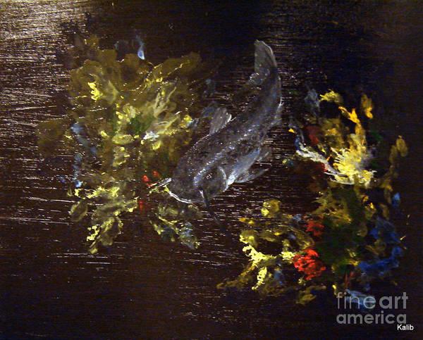 Anglin Wall Art - Painting - Nightcrawler by Kalib Anglin