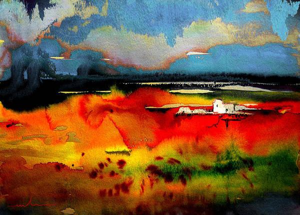 Painting - Nightfall 01 by Miki De Goodaboom