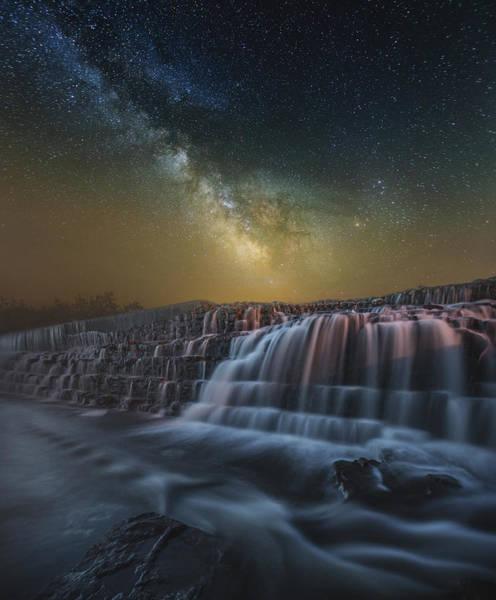 Photograph - Nightfall 2 by Aaron J Groen
