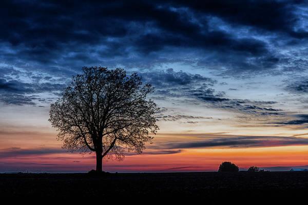 Photograph - Nightfall by CA Johnson
