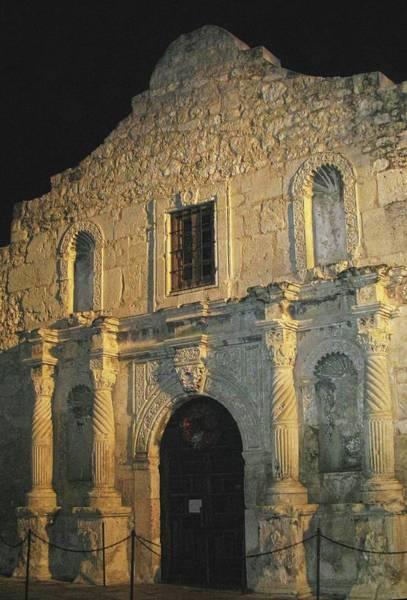 Photograph - Nightfall On The Alamo by Harriet Feagin
