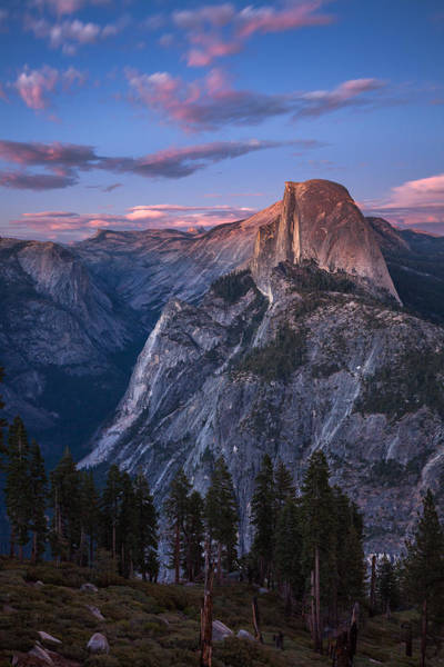 Wall Art - Photograph - Nightfall Over Half Dome by Thorsten Scheuermann