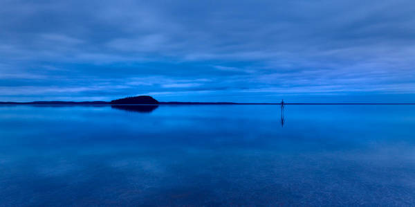 Photograph - Nightfall Over Lake Ballard by Julian Cook