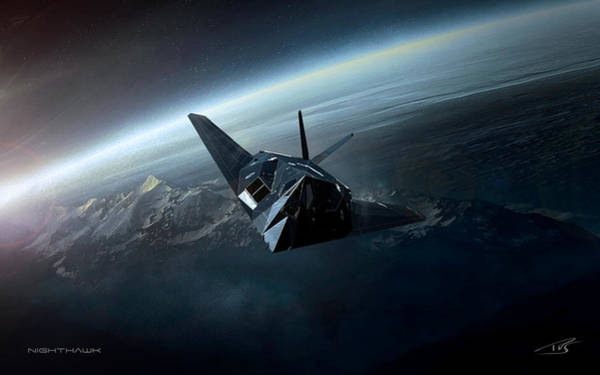 Cockpit Digital Art - Nighthawk by Peter Van Stigt