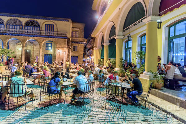 Evening Wall Art - Photograph - Nightlife In Havana 4 by Viktor Birkus