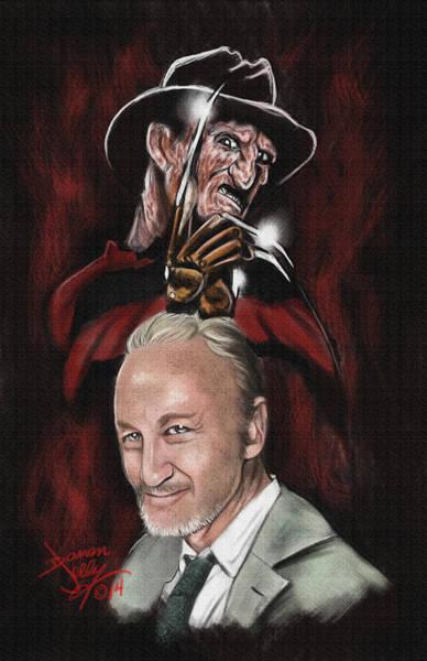 Nightmare On Elm Street Painting - Nightmare by Darren Jolly