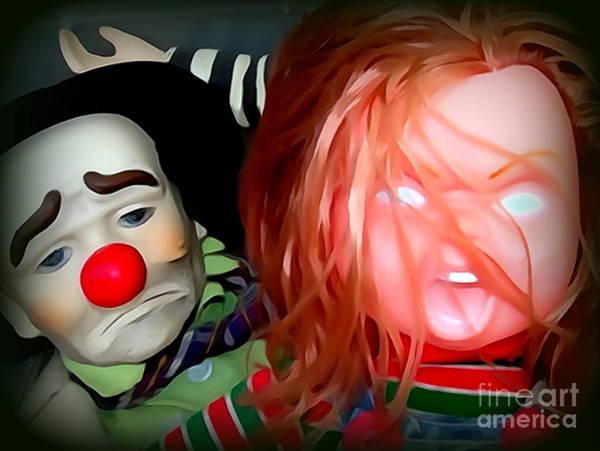 Chucky Wall Art - Photograph - Nightmare Neighbors by Ed Weidman