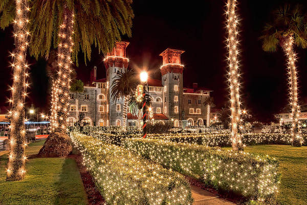 Nights Of Lights, Lightner Museum Art Print
