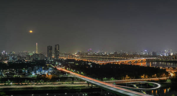 Wall Art - Photograph - Nightscape Of Seoul by Hyuntae Kim