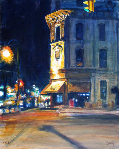 Painting - Nighttime by William Brody