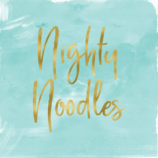 Mixed Media - Nighty Noodles Custom Art By Linda Woods by Linda Woods