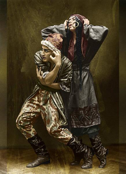 Photograph - Nijinska And Karnetzky by Robert G Kernodle