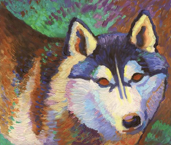 Painting - Nikita  by Linda Ruiz-Lozito