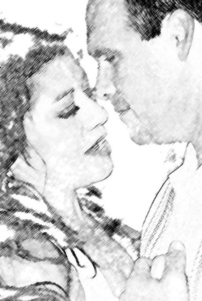 Digital Art - Nikki And Kris Passion by James Granberry