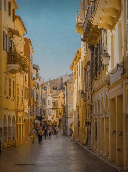 Photograph - Corfu, Greece - Nikoforos Theotokos Street by Mark Forte