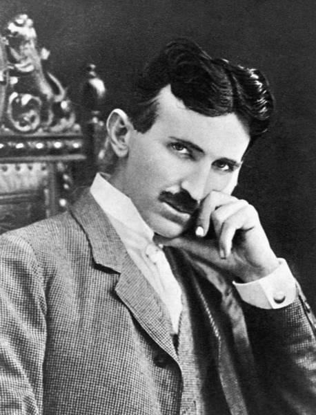 Photograph - Nikola Tesla by Artistic Panda