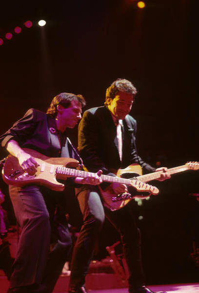 Photograph - Nils Lofgren And Bruce Springsteen by Rich Fuscia