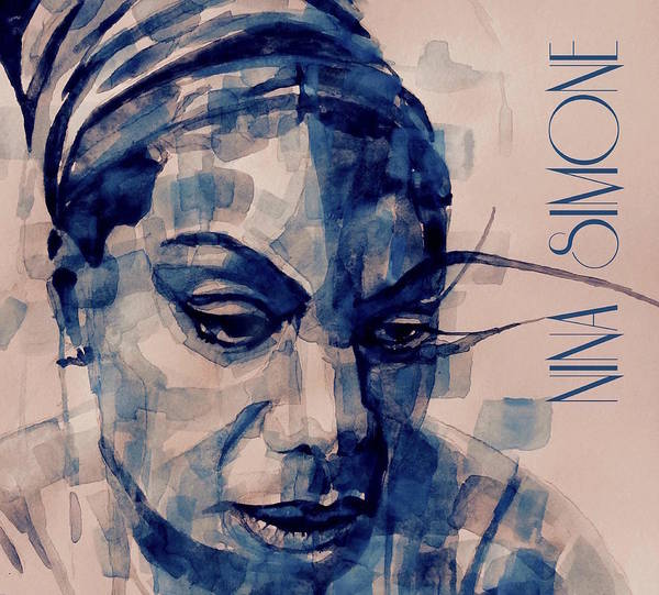 Wall Art - Painting - Nina Simone Art  by Paul Lovering