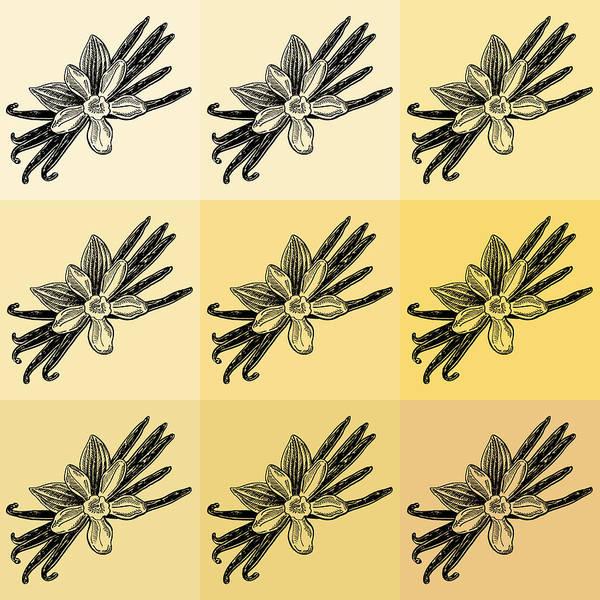 Lid Painting - Nine Shades Of Vanilla by Irina Sztukowski
