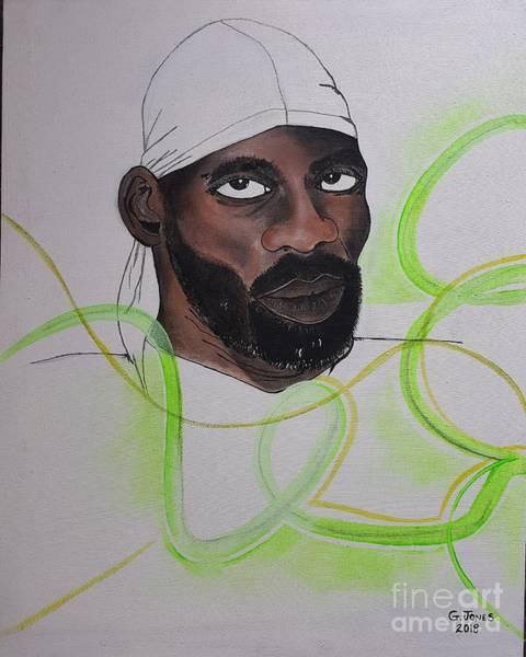 Wall Art - Painting - Ninja Man by Geary Jones