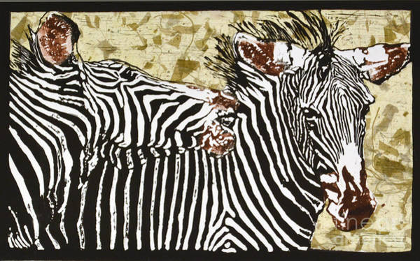Kenya Mixed Media - Nip And Tuck by Carol J  South