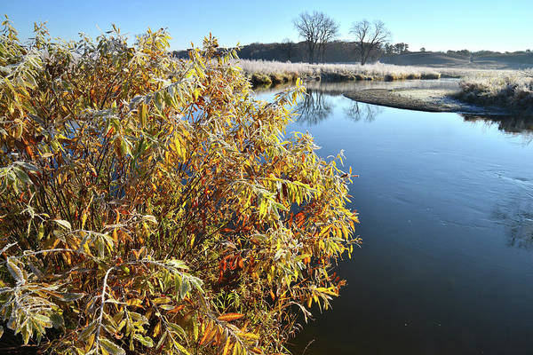 Photograph - Nippersink Creek In The Morning In Glacial Park by Ray Mathis