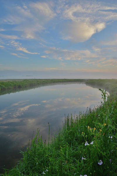 Photograph - Nippersink Creek Mirror Image In Glacial Park by Ray Mathis