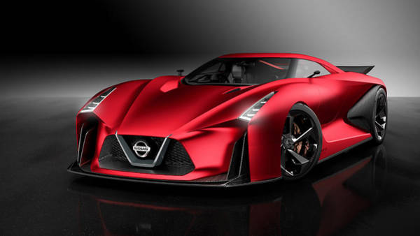 Nissan Digital Art - Nissan Concept 2020 Vision Gran Turismo by Mery Moon