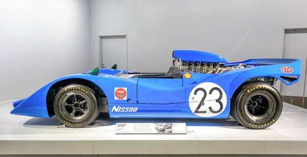 Photograph - Nissan R382 by Gene Parks