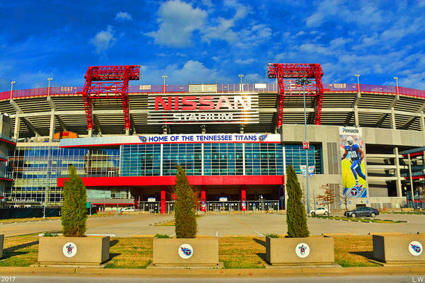 Nissan Stadium Home Of The Tennessee Titans Art Print