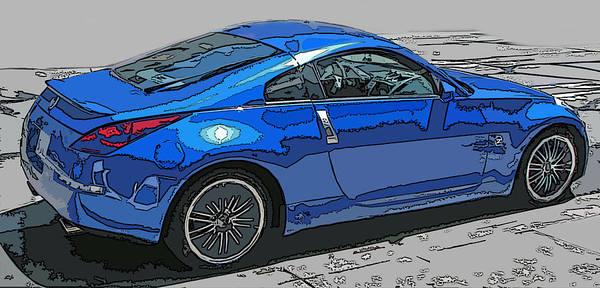 Nissan Z Car Art Print