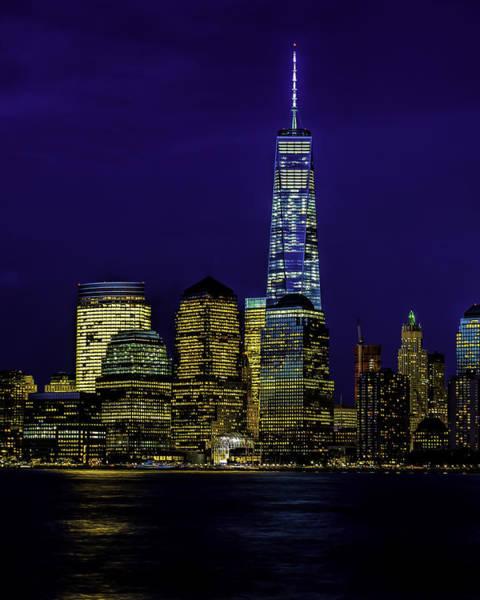 Photograph - Nitetime Skyline by Nick Zelinsky